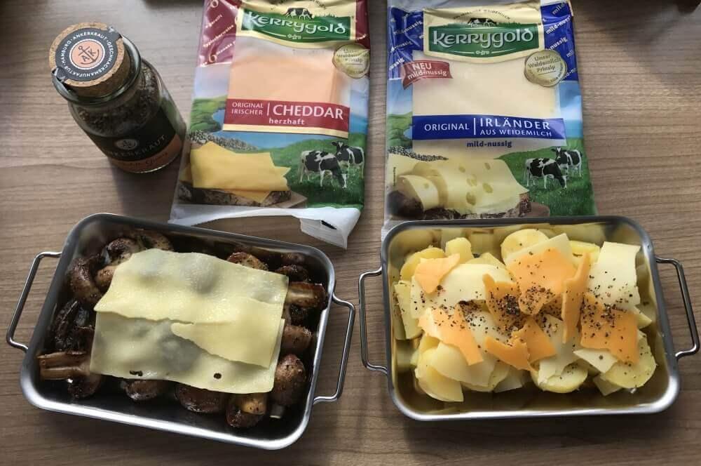 Kerrygold Käse grillen mit grillpfännchen-Grillen mit Grillpf  nnchen 02-Grillen mit Grillpfännchen – Kleine Snacks und Raclette vom Grill