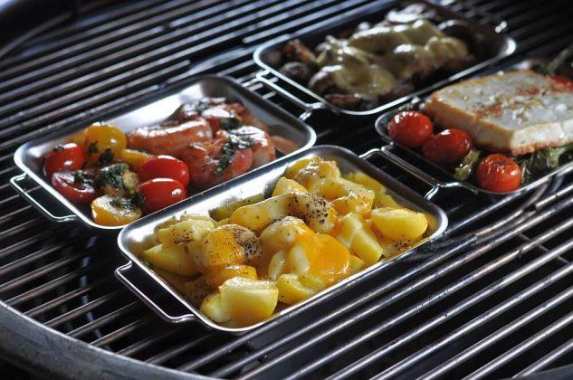 grillen mit grillpfännchen-Grillen mit Grillpf C3 A4nnchen 03 633x420-Grillen mit Grillpfännchen – Kleine Snacks und Raclette vom Grill