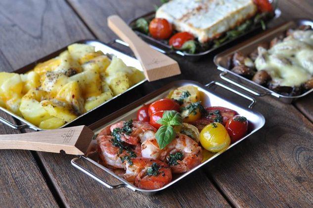 grillen mit grillpfännchen-Grillen mit Grillpf C3 A4nnchen 04 633x420-Grillen mit Grillpfännchen – Kleine Snacks und Raclette vom Grill