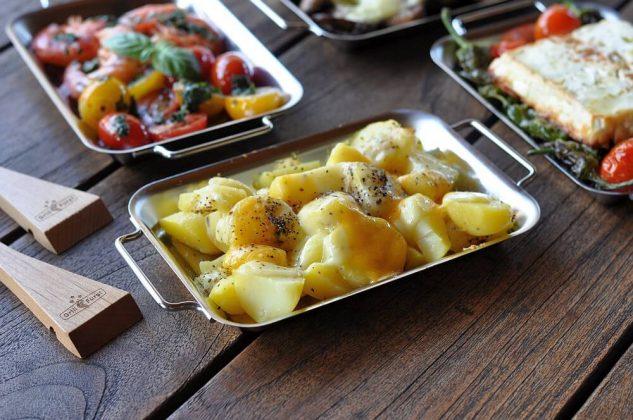 grillen mit grillpfännchen-Grillen mit Grillpf C3 A4nnchen 06 633x420-Grillen mit Grillpfännchen – Kleine Snacks und Raclette vom Grill