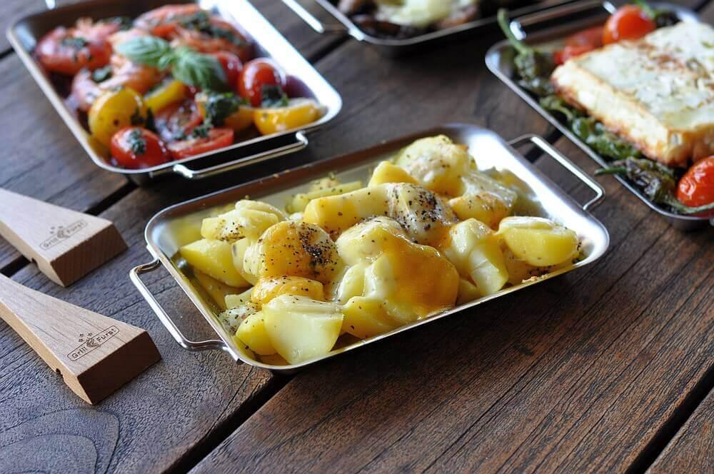 grillen mit grillpfännchen-Grillen mit Grillpf C3 A4nnchen 06-Grillen mit Grillpfännchen – Kleine Snacks und Raclette vom Grill