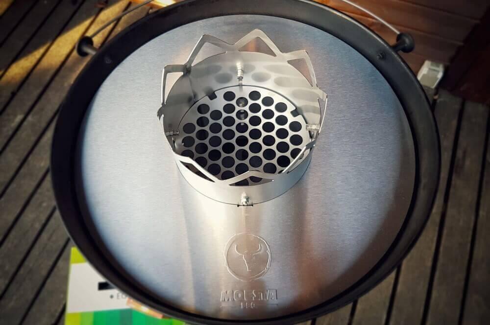Moesta Wok'n BBQ moesta wok'n bbq-MoestaWOKnBBQ 01-Moesta Wok'n BBQ im Test – So wird der Kugelgrill zum Wok!