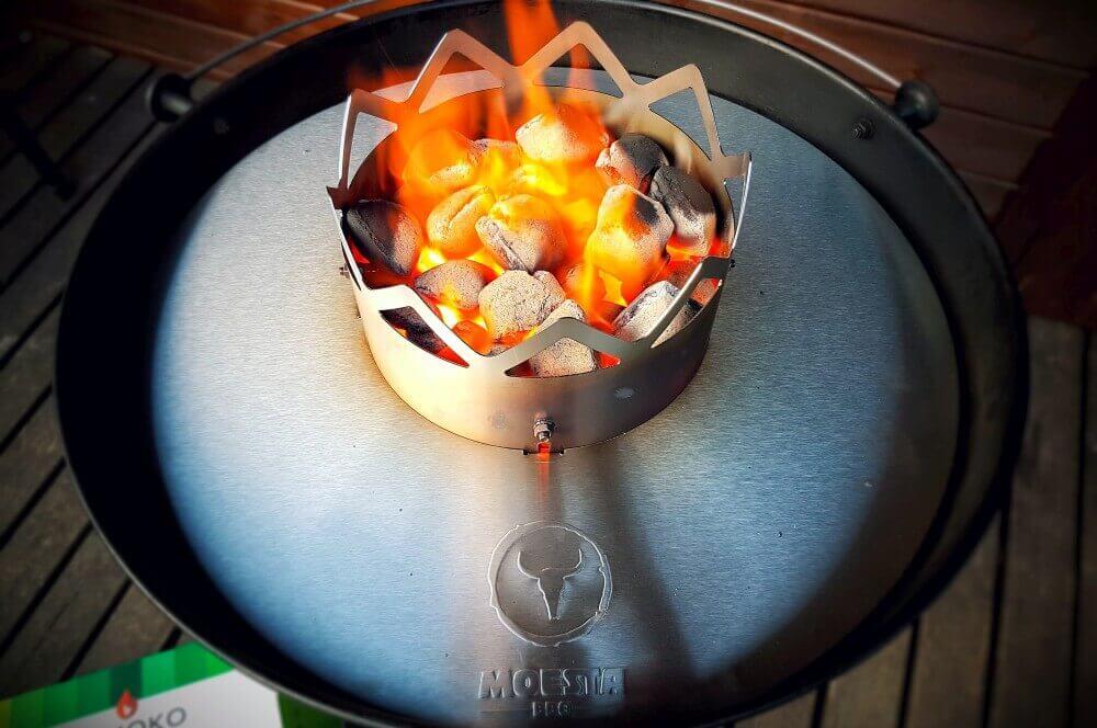 Moesta Wok'n BBQ moesta wok'n bbq-MoestaWOKnBBQ 02-Moesta Wok'n BBQ im Test – So wird der Kugelgrill zum Wok!