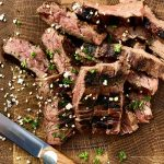 skirt steak-Skirt Steak Teriyaki 150x150-Skirt Steak vom Grill in Teriyaki-Marinade