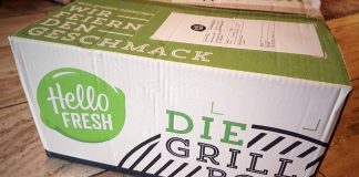 HelloFresh Grillbox