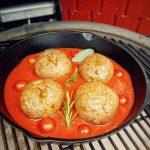 italienische fleischbällchen-Italienische Fleischbaellchen Spaghetti Kraeuterbutter Kerrygold 04 150x150-Italienische Fleischbällchen mit Spaghetti-Kräuterbutter-Füllung