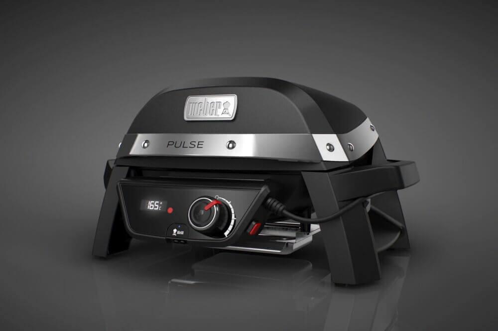 Weber PULSE 1000 Elektrogrill weber pulse-Weber Pulse 1000 Elektrogrill Grill Neuheiten 2018 02-Weber PULSE Smartgrill – Alle Infos zum innovativen Lifestyle-Grill