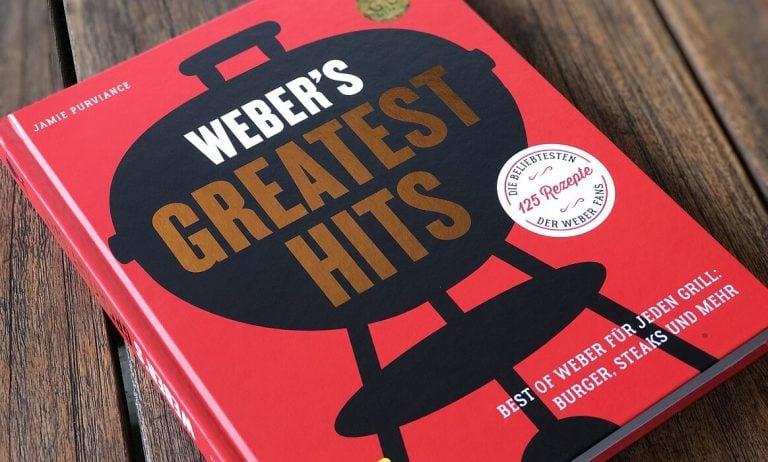 Weber's Greatest Hits – Best of Weber für jeden Grill