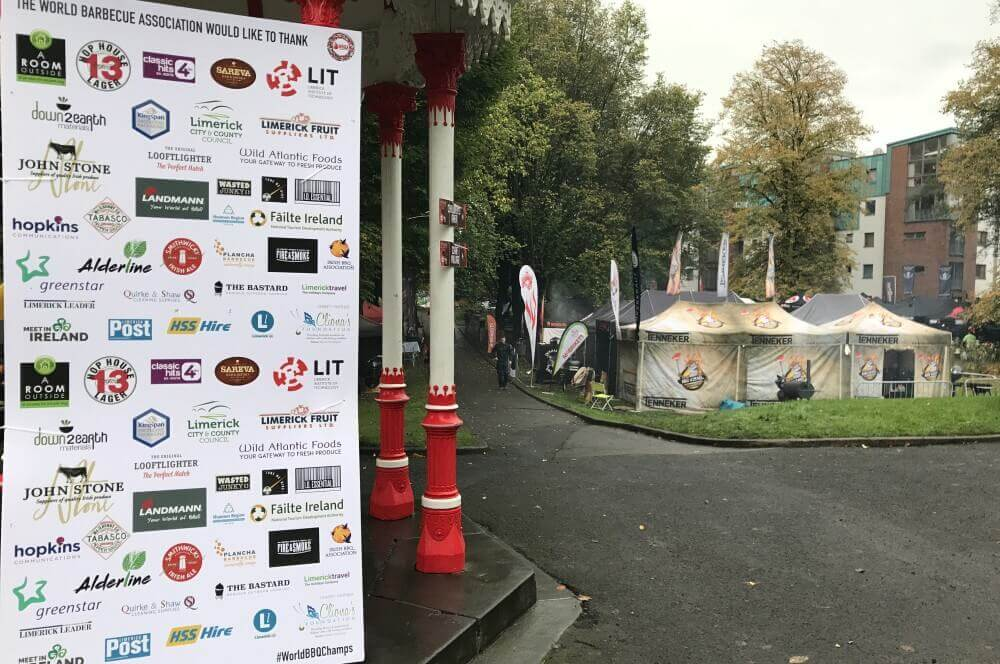 People's Park Limerick grill-weltmeister-Grill Weltmeister 2017 BBQ Wiesel 06-Grill-Weltmeister 2017 mit den BBQ Wieseln