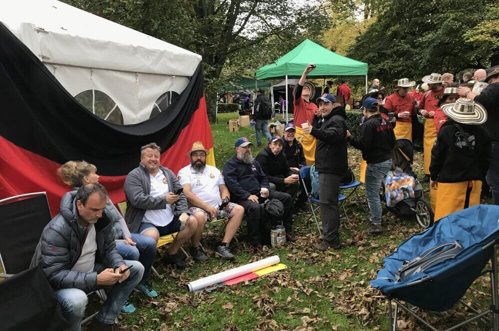 BBQ Wiesel grill-weltmeister-Grill Weltmeister 2017 BBQ Wiesel 22-Grill-Weltmeister 2017 mit den BBQ Wieseln