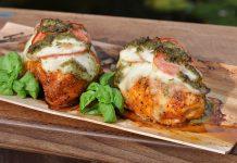 Hähnchen Tomate-Mozzarella