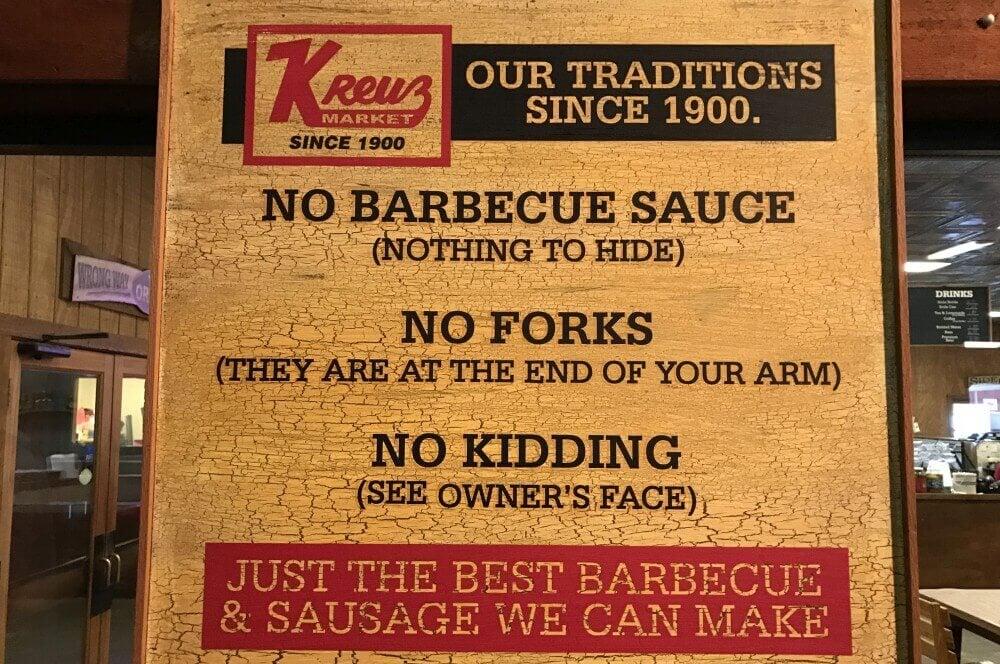 Texas Style BBQ beef ribs-Kreuz Market Lockhart Texas-Beef Ribs – Texas Style Rinderrippchen