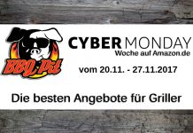 Amazon Cyber Monday Woche 2017