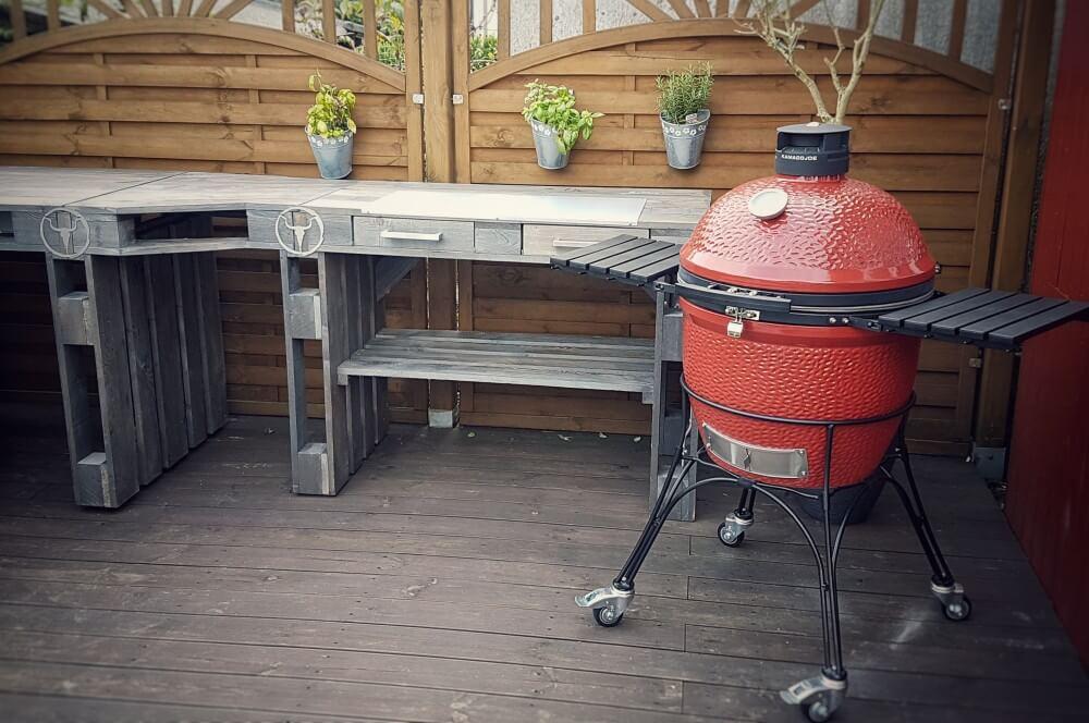 Moesta-BBQ Outdoor-Möbel - Außenküche / Grilltische / Outdoorküche