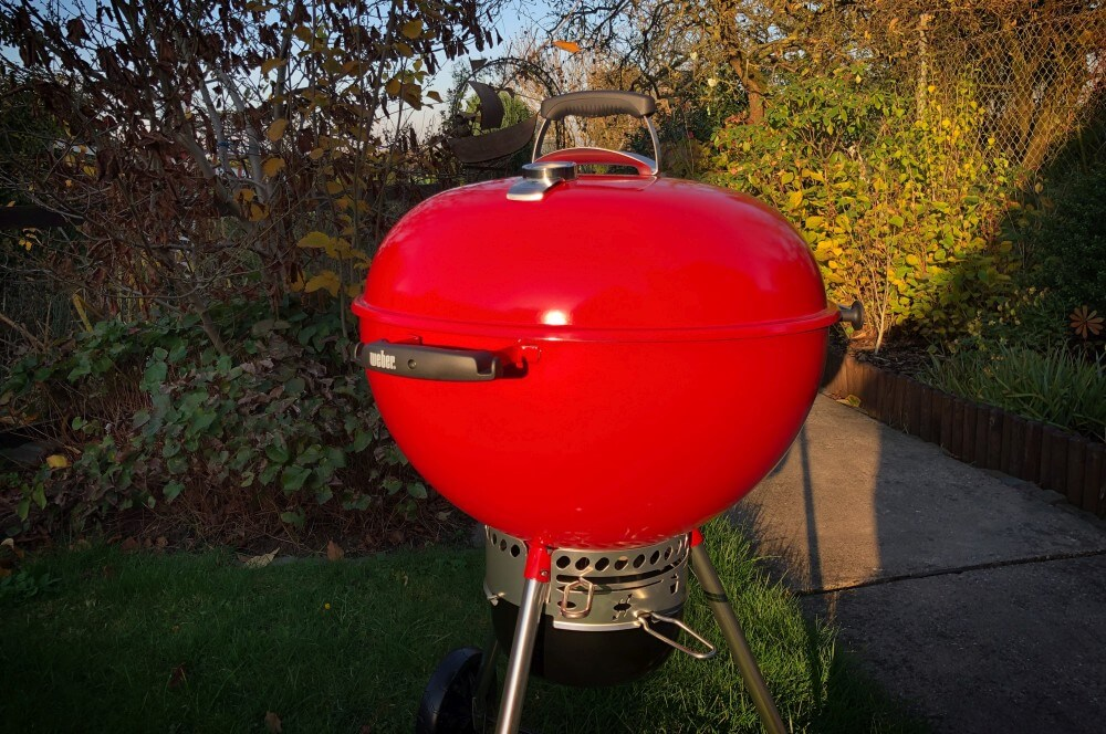 Rote Weber-Kugel weber master-touch gbs limited edition red-Weber Mastertouch GBS Limited Edition red 57cm 11-Ein Traum in rot: Weber Master-Touch GBS Limited Edition Red