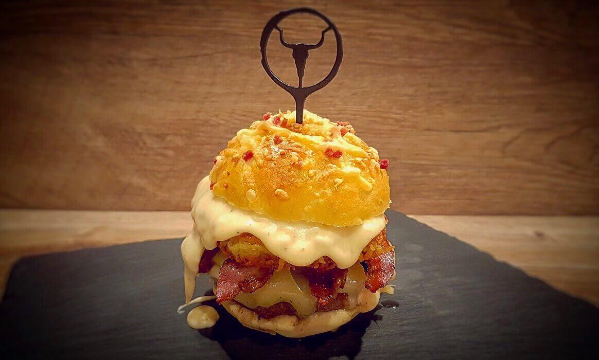 """Big Rösti rösti burger-Big R C3 B6sti Burger McDonalds Rezept-Rösti Burger – Rezept für den Alpenburger nach """"Big Rösti""""-Art"""