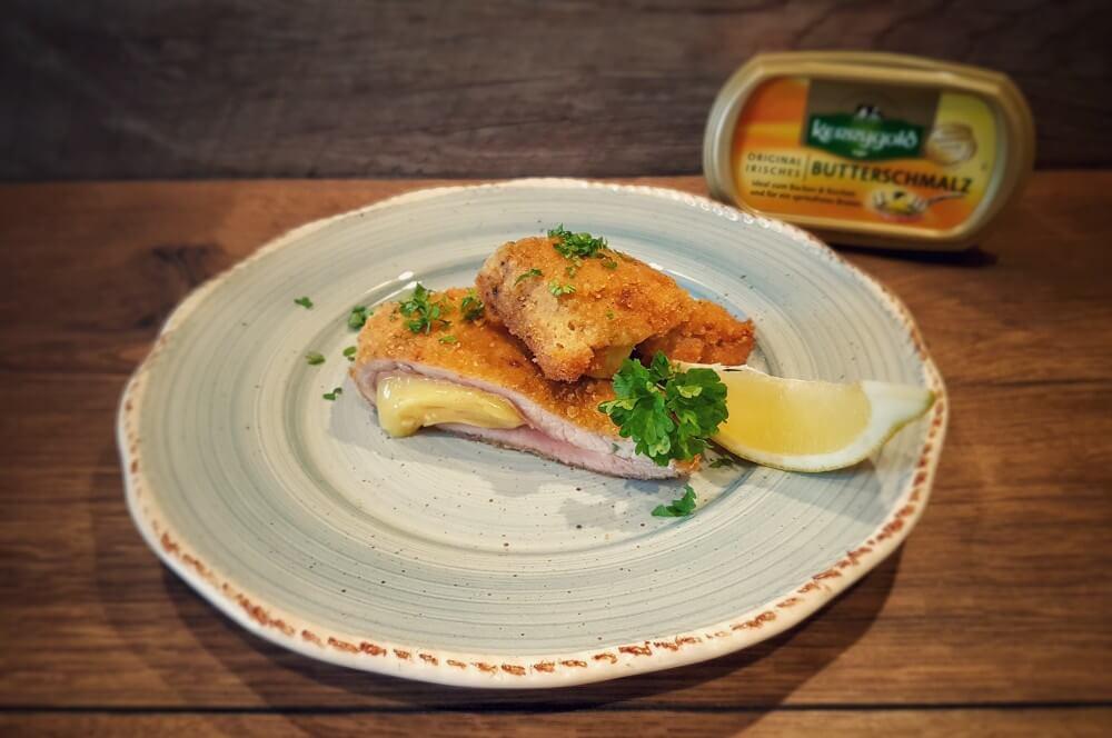 gefülltes Schnitzel cordon bleu-Cordon Bleu gefuelltes Schnitzel mit Kaese und Schinken 03-Cordon Bleu – gefülltes Schnitzel mit Käse und Schinken