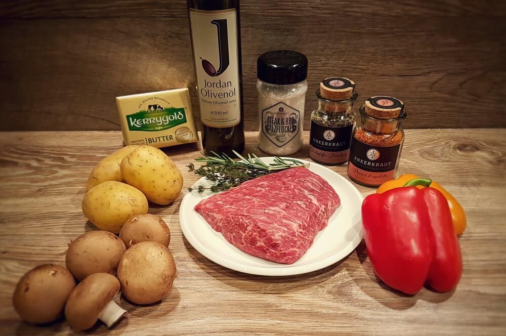 Bavette Steak bavette steak-Flap Steak Bavette Flap Meat 01-Bavette Steak mit Grillgemüse und Hasselback Potatoes bavette steak-Flap Steak Bavette Flap Meat 01-Bavette Steak mit Grillgemüse und Hasselback Potatoes