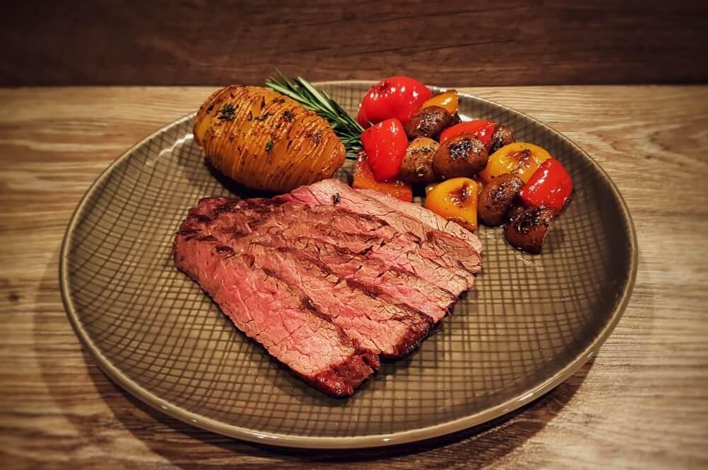 Bavette Steak bavette steak-Flap Steak Bavette Flap Meat 04-Bavette Steak mit Grillgemüse und Hasselback Potatoes bavette steak-Flap Steak Bavette Flap Meat 04-Bavette Steak mit Grillgemüse und Hasselback Potatoes