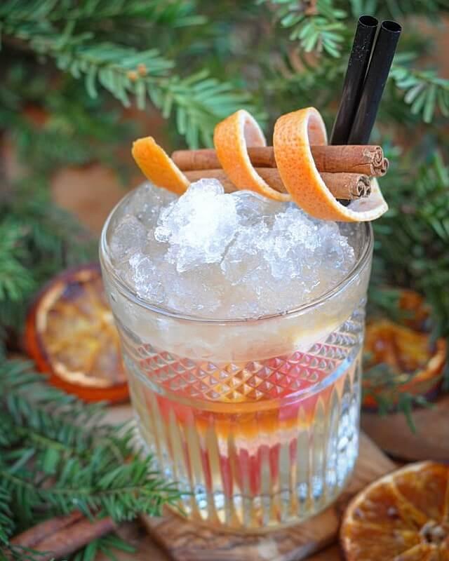 Gingle Bells gingle bells-Gingle Bells weihnachtlicher Drink Gin 01-GINgle Bells – Weihnachtlicher Cocktail mit Gin und Zimt