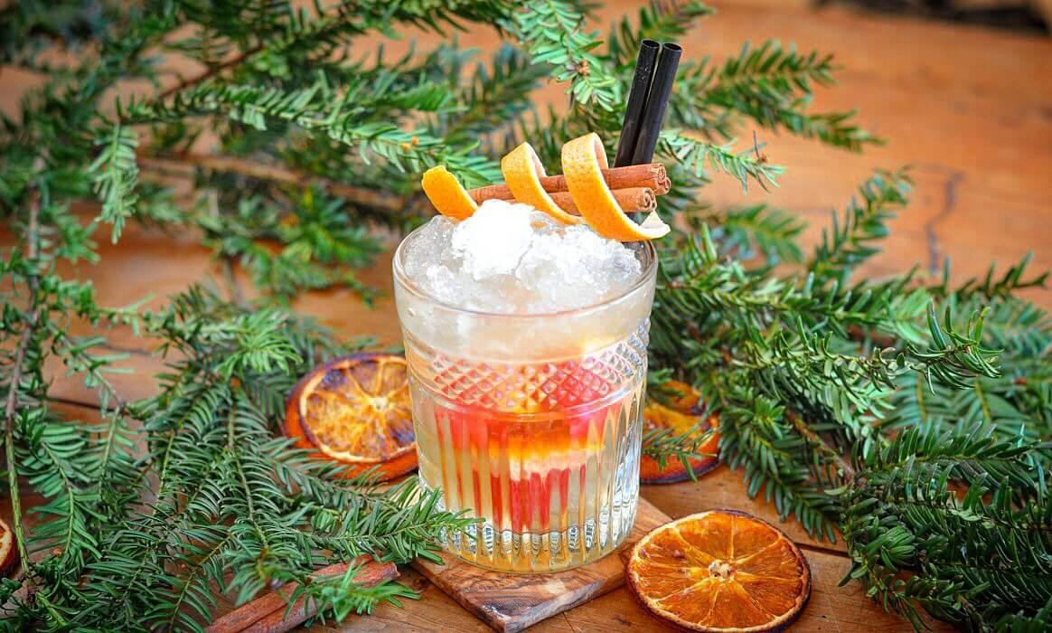 Weihnachtlicher Cocktail mit Gin gingle bells-Gingle Bells weihnachtlicher Drink Gin-GINgle Bells – Weihnachtlicher Cocktail mit Gin und Zimt
