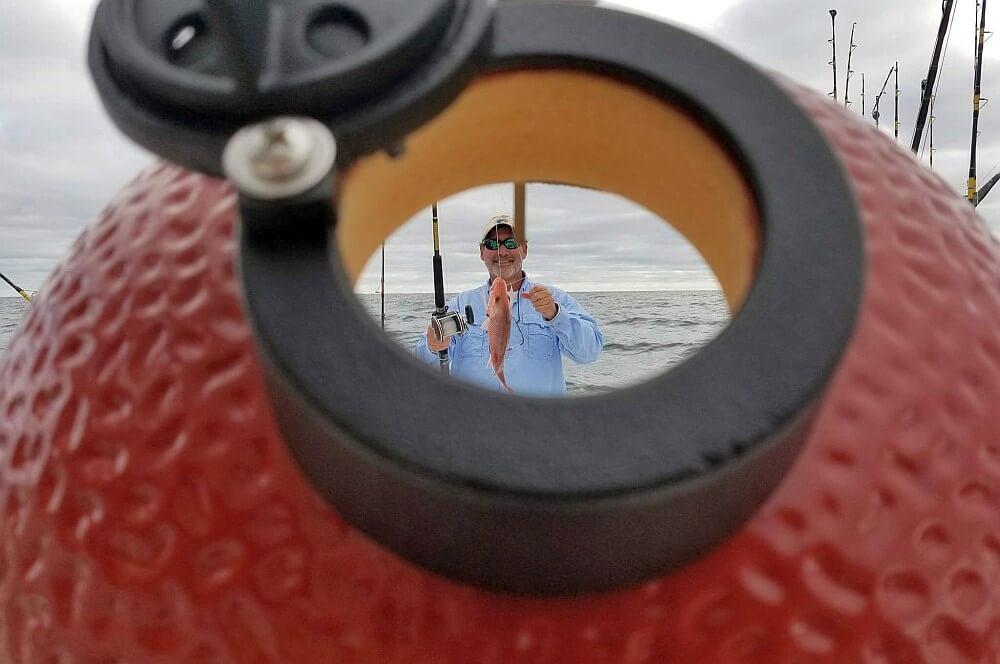 Kamado Joe Junior Snapper hochseeangeln-Hochseefischen Kamado Joe 06-Hochseeangeln mit Kamado Joe im Golf von Mexiko