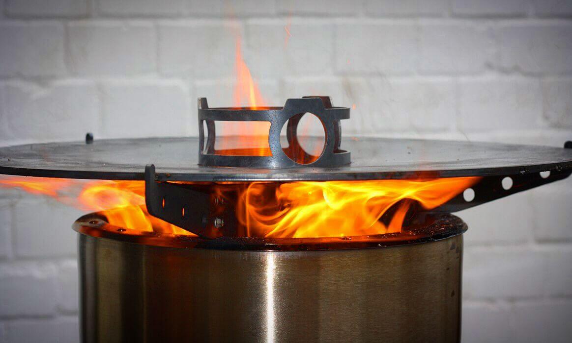 Platte Für Außenküche : Feuerhand pyron plate u feuerplatte grillplatte bbqpit