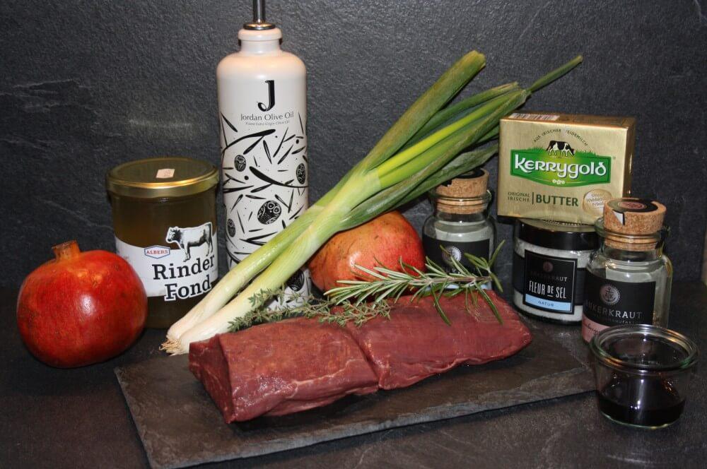 Rinderfilet rinderfilet-Rinderfilet Granatapfelsauce 01-Rinderfilet mit Granatapfelsauce