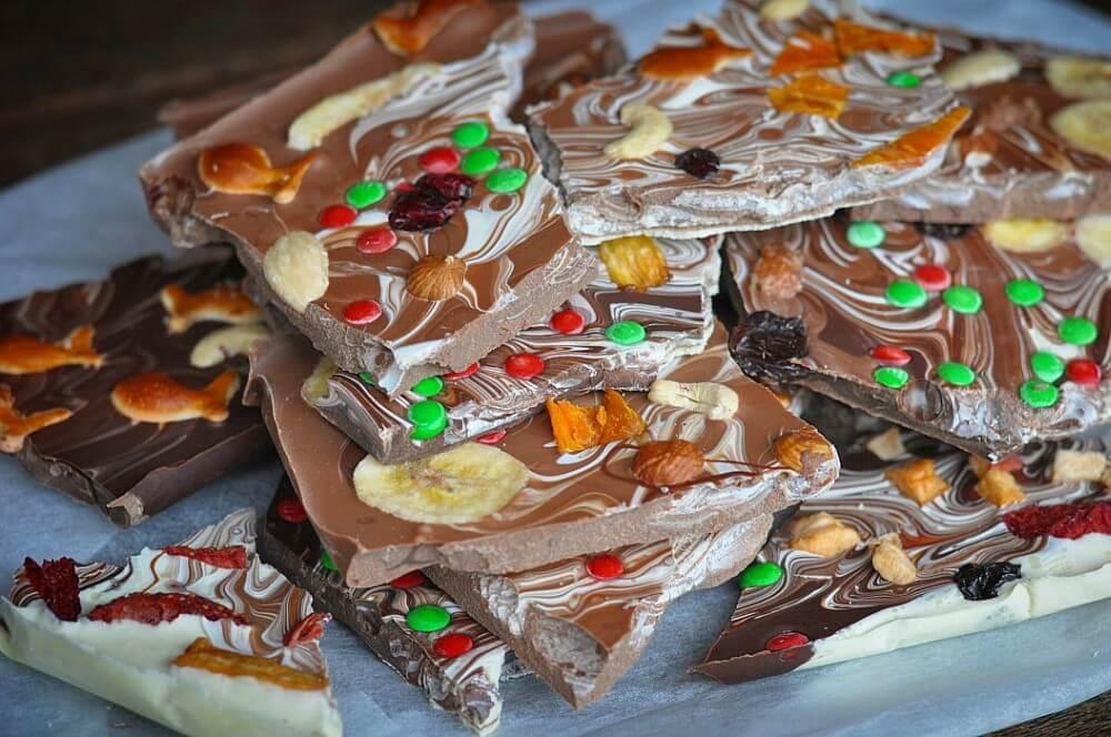 Schokolade selber machen schokolade selber machen-Schokolade selber machen Weihnachtsschokolade 06-Schokolade selber machen – Weihnachtsschokolade
