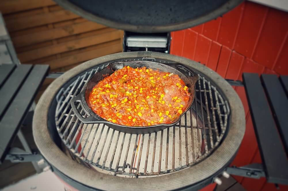Kamado Joe Classic II nachoauflauf-Nachoauflauf Hackfleisch Kaese 03-Nachoauflauf mit Hackfleisch und Käse nachoauflauf-Nachoauflauf Hackfleisch Kaese 03-Nachoauflauf mit Hackfleisch und Käse