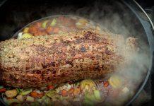 Rindernacken aus dem Dutch Oven