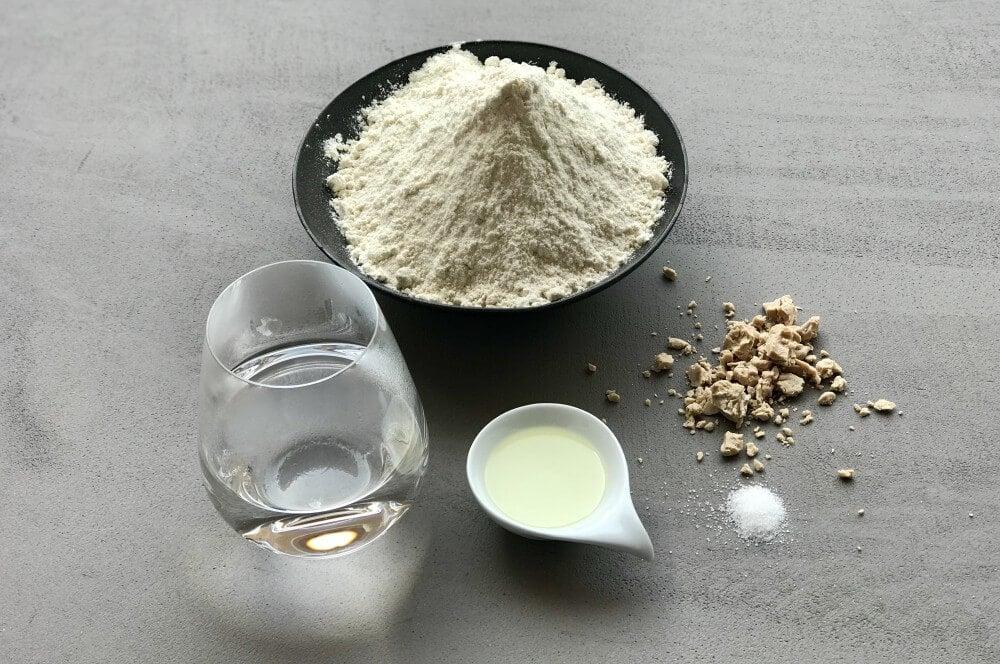 Zutaten Bao Buns gedämpfte brötchen-Gedaempfte Broetchen Bao Buns 01-Gedämpfte Brötchen – Bao Buns selber machen