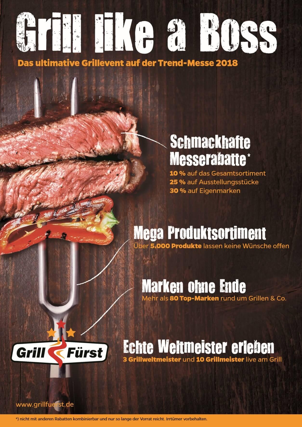 Grillfürst Grillmesse 2018 grillfürst grillmesse 2018-GrillfuerstTrendmesse2018Fulda-Grillfürst Grillmesse 2018 auf der Trendmesse in Fulda vom 15.-18.03.