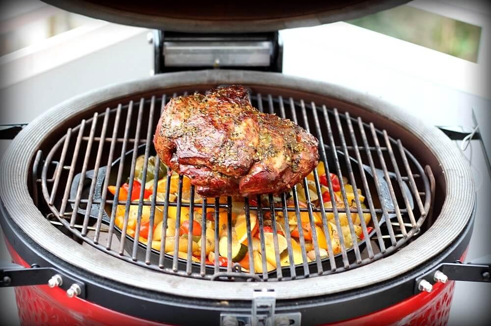 Lammkeule vom Grill lammkeule vom grill-Lammkeule vom Grill 04-Lammkeule vom Grill mit mediterranen Kräutern