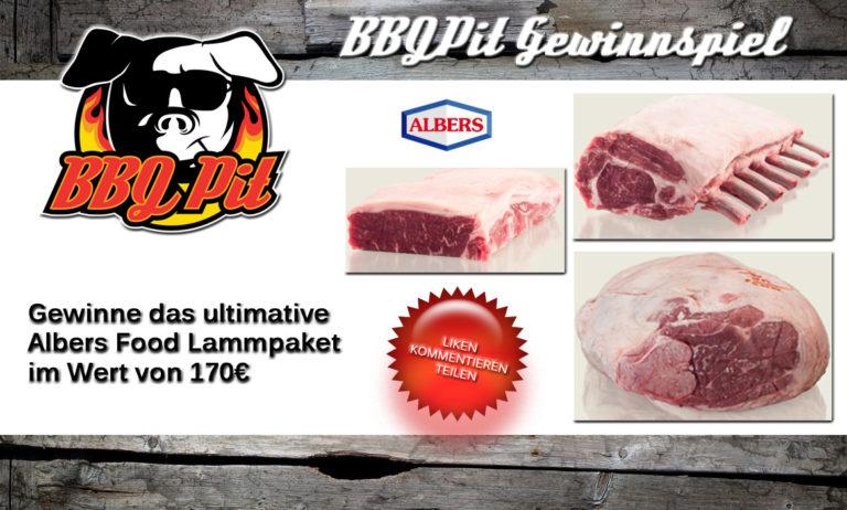 Lammfleisch-Paket von Albers Food im Wert von 170€ zu gewinnen!