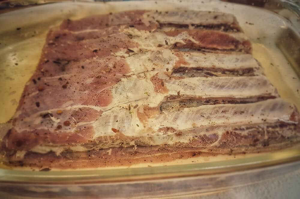 Der Bauch wird gewässert bacon selber machen-Bacon selber machen Fruehstuecksspeck raeuchern 03-Bacon selber machen – Frühstücksspeck pökeln und räuchern