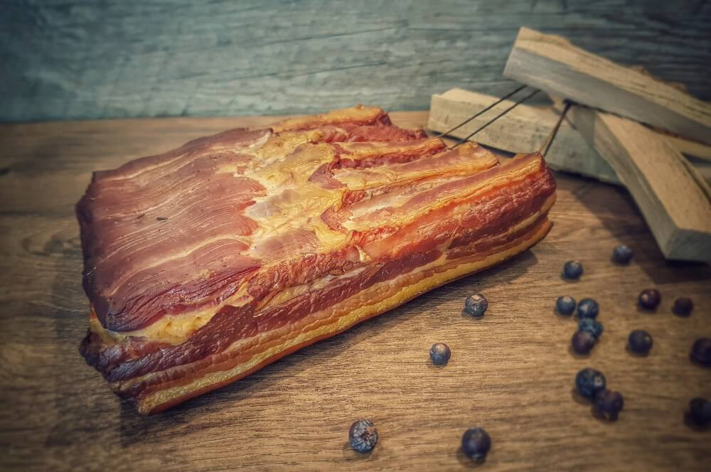 Geräucherter Bacon bacon selber machen-Bacon selber machen Fruehstuecksspeck raeuchern 06-Bacon selber machen – Frühstücksspeck pökeln und räuchern