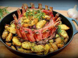 Crown Roast Schweinekarree [object object]-Kronenbraten Iberico Schweine Karree 265x198-BBQPit.de das Grill- und BBQ-Magazin – Grillblog & Grillrezepte –
