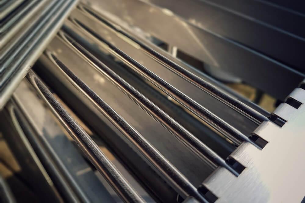 """Die Stäbe des Grillrostes sind einzeln entnehmbar schickling premiogas xl-Schickling GasGrill PremioGas XL Barbecue 05-Schickling PremioGas XL """"Barbecue"""" Gasgrill im Test"""