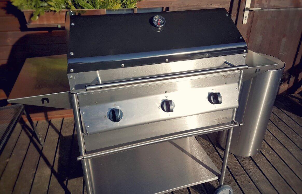 schickling premiogas xl barbecue gasgrill im test | bbqpit.de