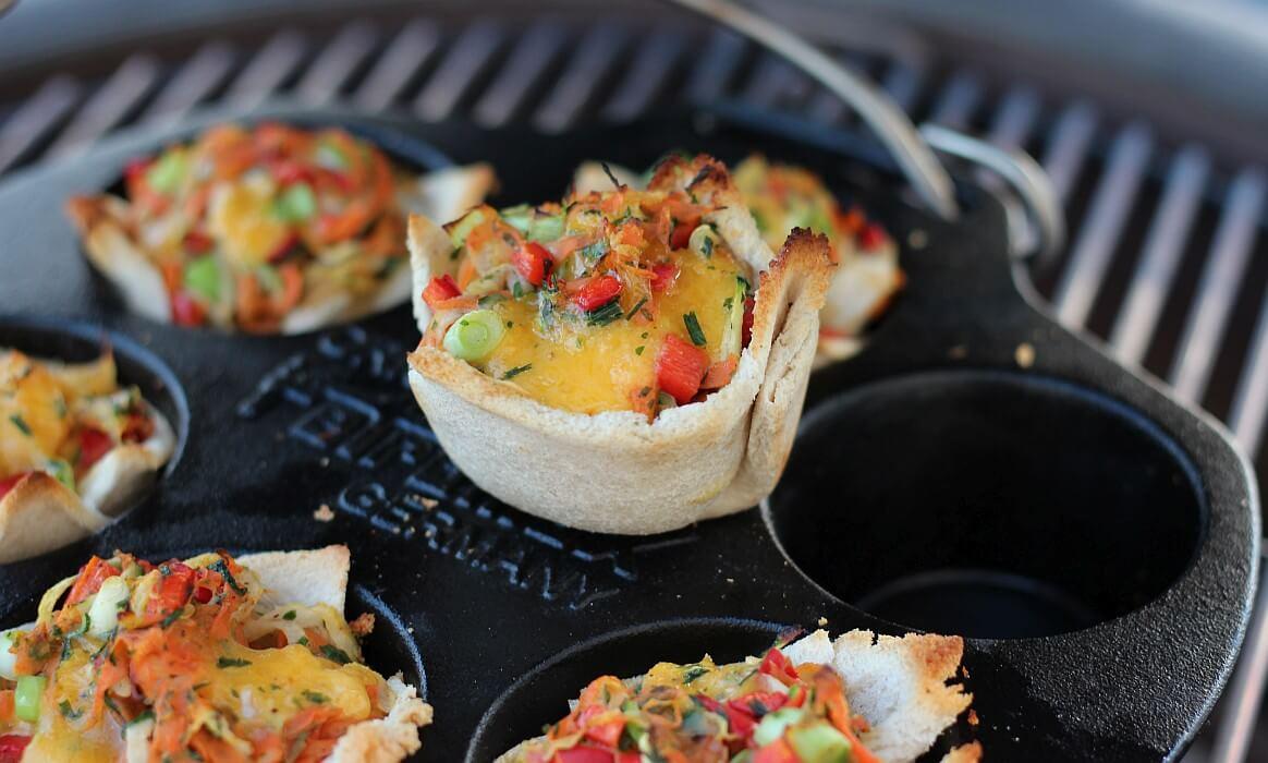 Vegetarische Muffins gemüse-muffins-Gemuesemuffins Toast Vegetarische Muffins-Gemüse-Muffins – Vegetarische Muffins im Toast vom Grill