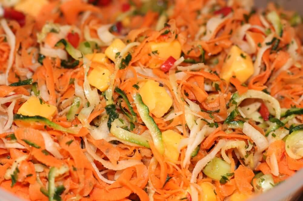 Gemüse geraspelt gemüse-muffins-Gemuesemuffins Toast Vegetarische Muffins 03-Gemüse-Muffins – Vegetarische Muffins im Toast vom Grill