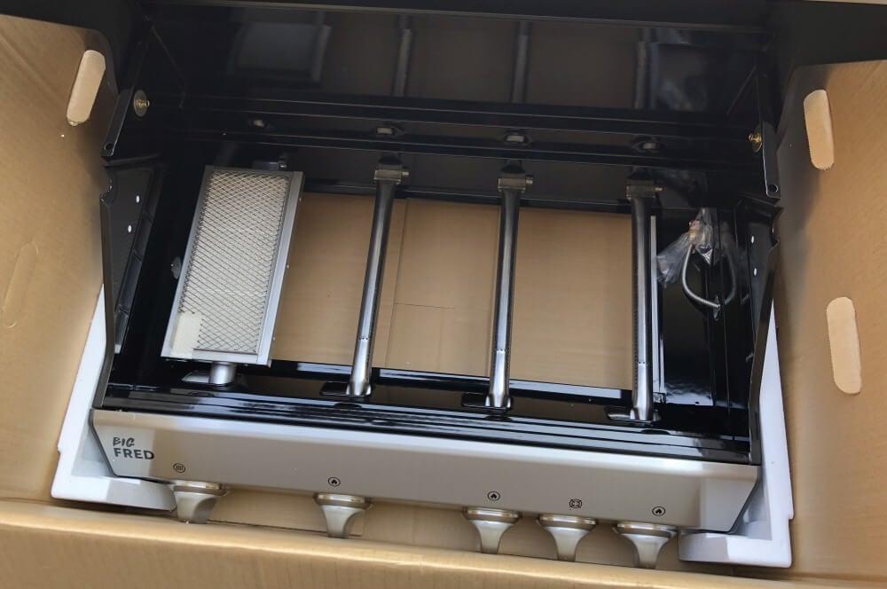 3 Brenner + Infrarot Keramikbrenner im Burnhard Big Fred burnhard gasgrill big fred deluxe-Burnhard Gasgrill Big Fred Deluxe Springlange 04-Burnhard Gasgrill Big Fred Deluxe im Test – 800°C Grill für 659€
