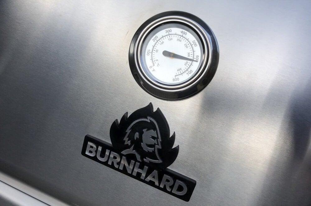 Der Burnhard schafft Temperaturen bis 330°C  burnhard gasgrill big fred deluxe-Burnhard Gasgrill Big Fred Deluxe Springlange 17-Burnhard Gasgrill Big Fred Deluxe im Test – 800°C Grill für 629€