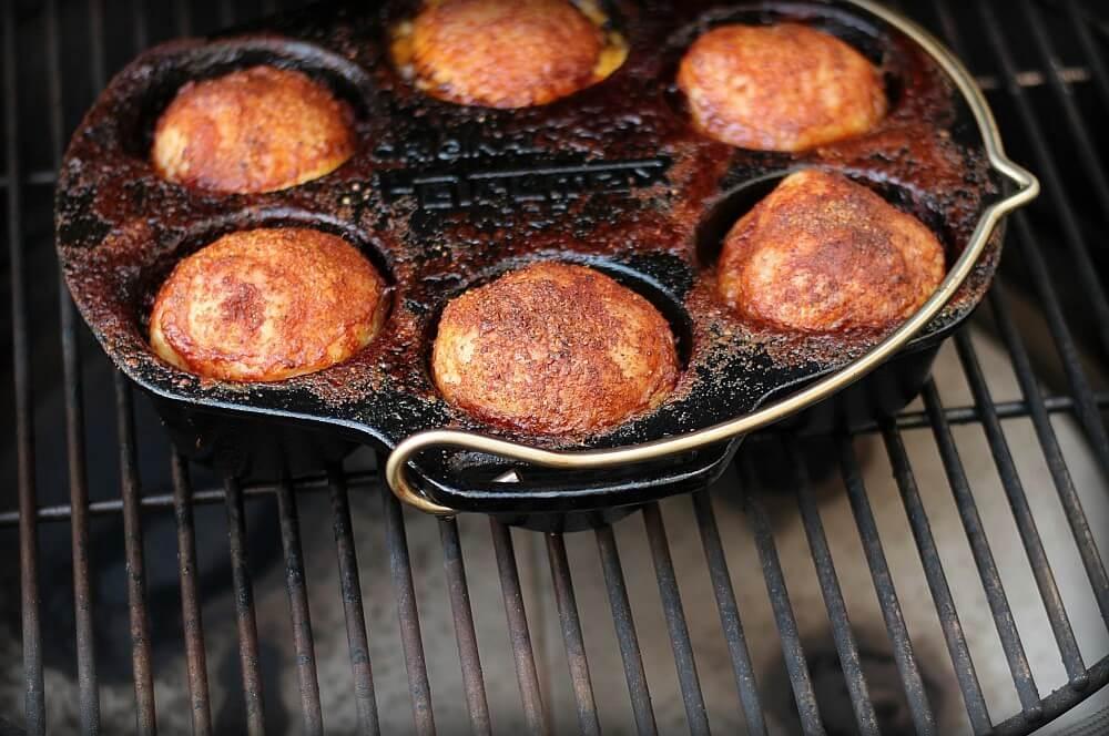 Muffin Pan Chicken in der Petromax Muffinform mf6 muffin pan chicken-Muffin Pan Chicken Cupcake Chicken 06-Muffin Pan Chicken – Cupcake Chicken aus der Muffinform