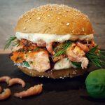 pulled lachs burger-Pulled Lachs Burger 05 150x150-Pulled Lachs Burger mit Krabben