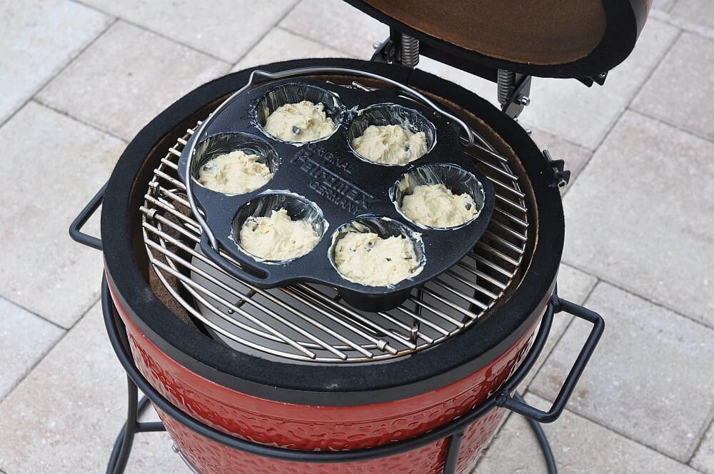 Die Lakritz-Muffins werden ca. 20 Minuten indirekt gebacken lakritz-muffins-Lakritz Muffins 04-Lakritz-Muffins mit schwedischer Lakritze
