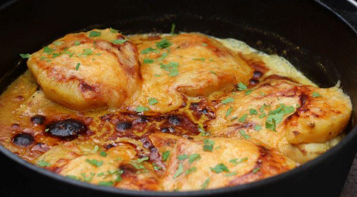 Curry Hähnchen mit Ananas