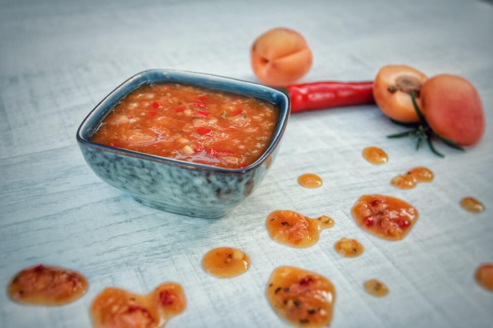 Aprikosen-Chutney mit Ingwer aprikosen-chutney-Aprikosen Chutney Ingwer 02-Aprikosen-Chutney mit Ingwer