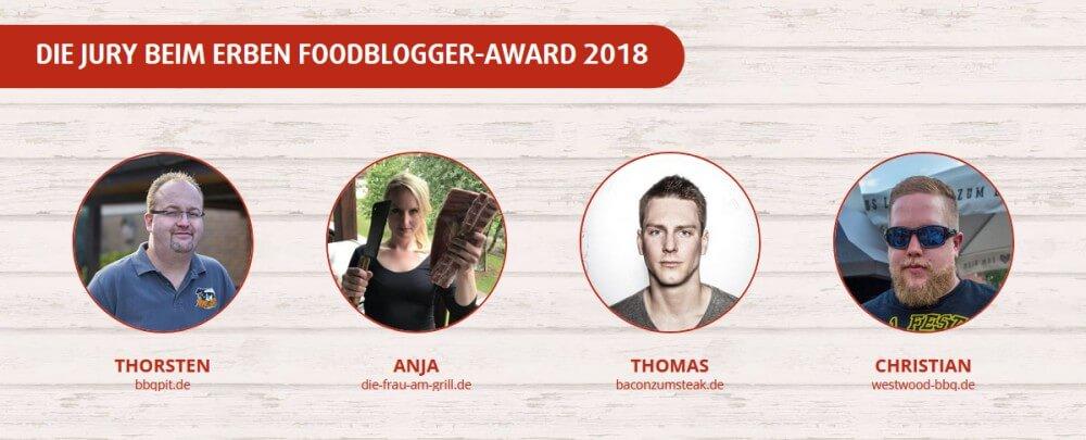 Die Jury des ERBEN Foodblogger-Award 2018 erben foodblogger award-ERBEN Foodblogger Award BBQ Grill 2018 02-ERBEN Foodblogger Award BBQ & Grill 2018
